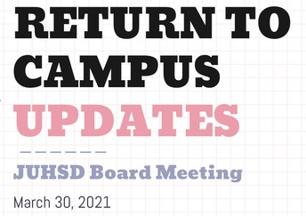 Return to Campus Updates