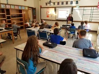 6th Graders at Work