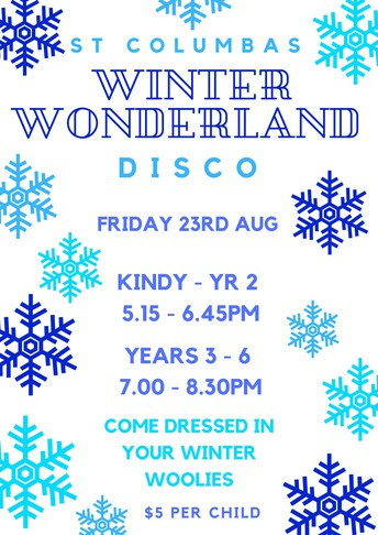 Student Disco - Friday 23 August