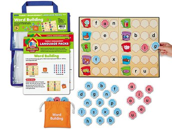 Word Building Family Engagement Pack Grades K & 1