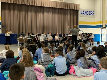 Band Concert Shared the Sounds of the Season