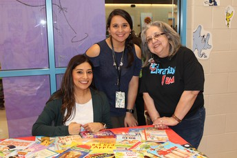 Left to Right: Mrs. S. Rodriguez, Ms. J. Rodriguez & Mrs. Hinojosa