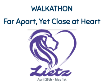 Lietz Walk-A-Thon: Shake, Rattle and Roll! April 26-May 1