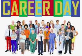 JROB Dolphins are College and Career Ready.... Career Day 2019 (1/29)