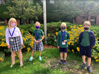 One of these masked  third graders....