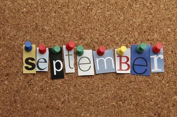 September-October Calendar