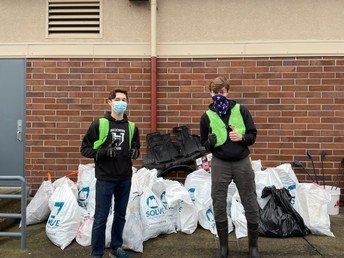 Band Service Project for MLK Jr. Day