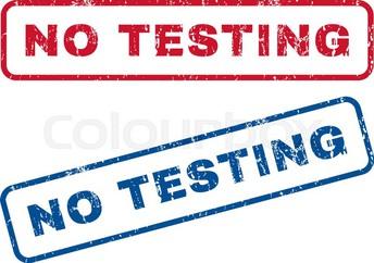No State Testing!!!