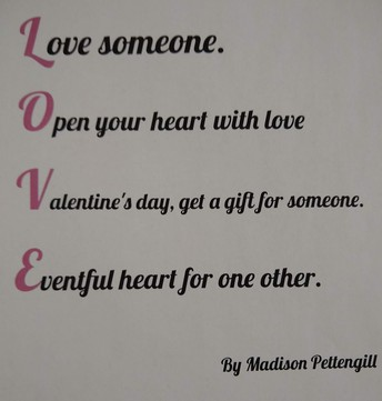 Love someone. Open your heart with love. Valentine's day, get a gift for someone. Eventful heart for one another.