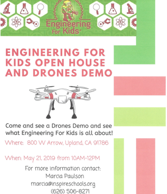 Engineering for Kids UPLAND Open House!