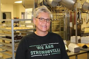 MUSTANG SPOTLIGHT - MRS. JULIE ANDERSEN, CAFETERIA MANAGER AT STRONGSVILLE MIDDLE SCHOOL