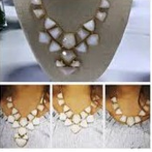 Mosaic Statement Necklace