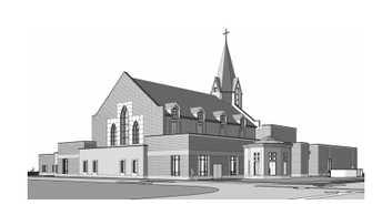 The NEW St. Francis Xavier Catholic Church and Parish Center...NOW OPEN!