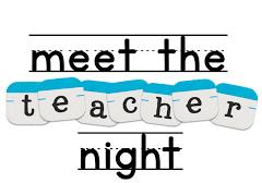 1st Grade -4th Grade Meet the Teacher - August 8, 5:30