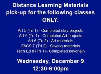 DL Materials Pick-up