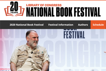 2020 National Book Festival-THIS FRIDAY-SUNDAY