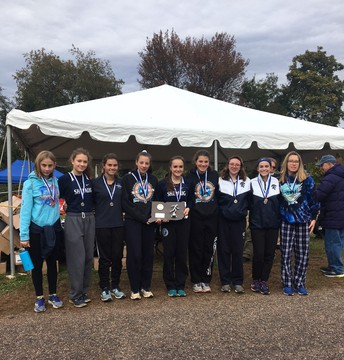 Shepaug Girls Cross Country, State Champion Runners-Up
