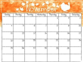 November Prof. Learning