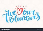 May 3 - Volunteer Breakfast