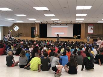 Upper Elementary School STRIPES Assembly