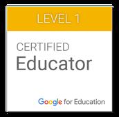 Level 1 Google Certified Educators