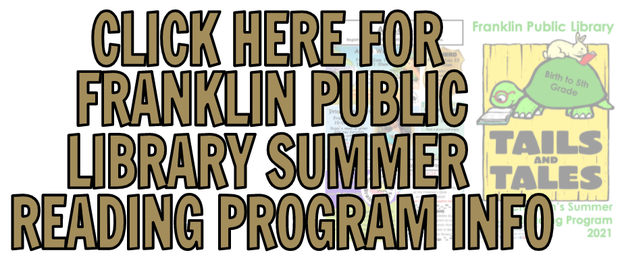 Click here for Summer Reading Info