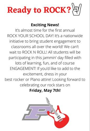 ROCK YOUR SCHOOL DAY!