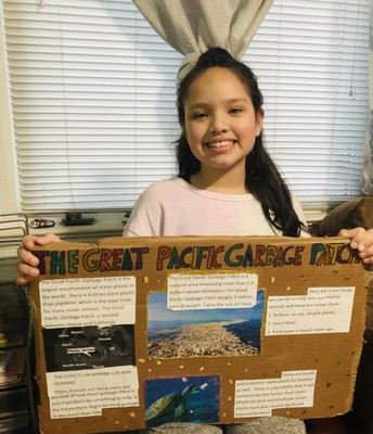 5th Grade Great Pacific Garbage Patch Project