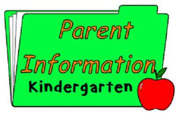 Incoming Kindergarten Parent Night Presentation