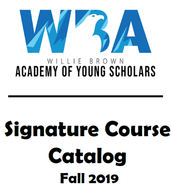 Signature Course - FALL REQUESTS due 9/9