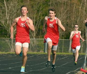 Boy's Track Team Snaps Saranac's Streak