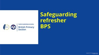 Safeguarding - by Mrs Kay Chaeter