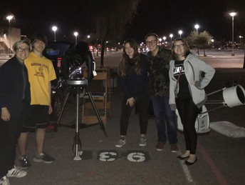 Astronomy Club Hosts First Star Party of the Year!