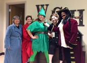 Peter Pan, Captain Hook, and the bedtime gang
