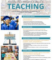 Klein ISD High Quality Teaching