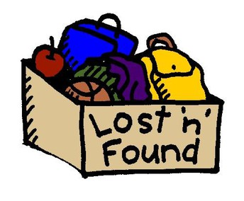 Lost & Found Spring Cleaning