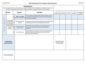 Principal Goal Reflection Sheet