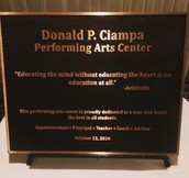 Donald P. Ciampa Performing Arts Center