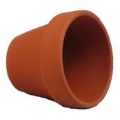 """2.5"""" Terra Cotta Pots"""