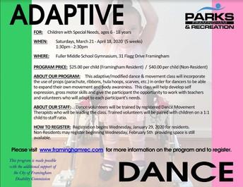 Adaptive Dance Program