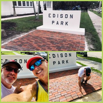 Thank you, Lieze-Adams family, for completing the BRICK entry!