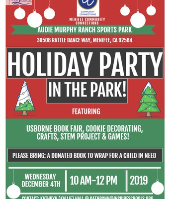 Holiday Party in the Park