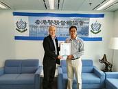 香港警務督察協會誠邀何家騏博士出任學術顧問