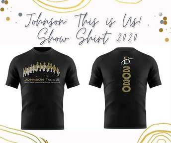 Johnson: This is Us!  Show Shirts