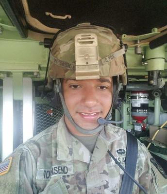 Sergeant Trey Townsend, United States Army