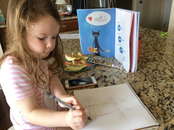 Learning to Draw Pete the Cat