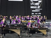 Drumline Earns Fourth Place Finish At WGI Regionals