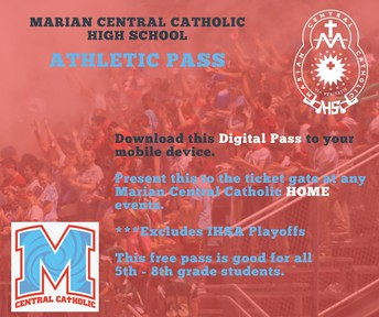 Calling all 5th - 8th Graders!  DIGITAL ATHLETIC PASS NOW AVAILABLE!