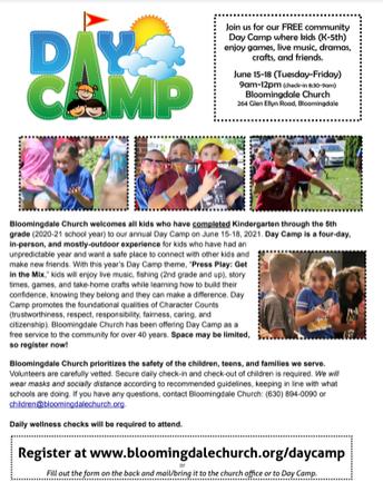 Free Community Day Camp