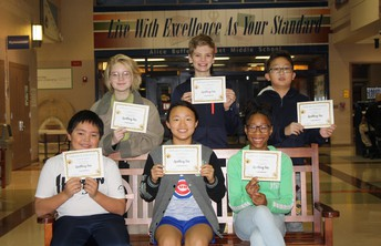 7th Grade Top Spellers
